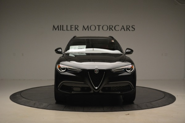 New 2018 Alfa Romeo Stelvio Sport Q4 for sale Sold at Alfa Romeo of Greenwich in Greenwich CT 06830 12
