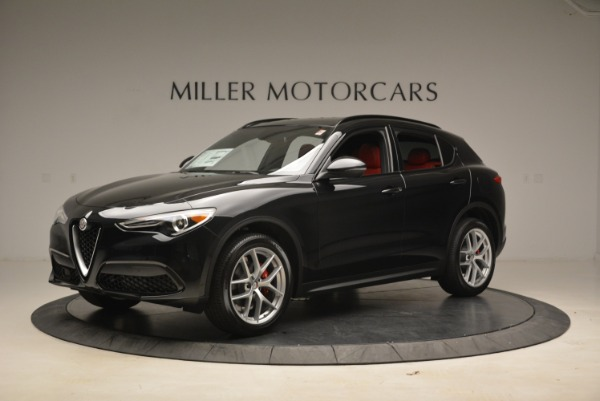 New 2018 Alfa Romeo Stelvio Sport Q4 for sale Sold at Alfa Romeo of Greenwich in Greenwich CT 06830 2