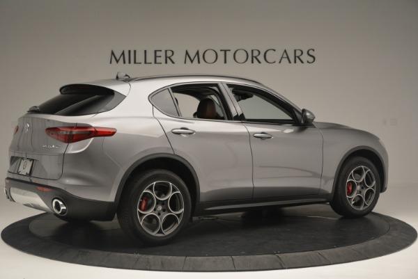 New 2018 Alfa Romeo Stelvio Sport Q4 for sale Sold at Alfa Romeo of Greenwich in Greenwich CT 06830 7