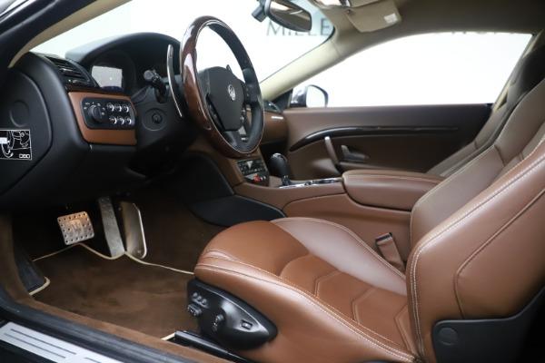 Used 2016 Maserati GranTurismo Sport for sale $64,900 at Alfa Romeo of Greenwich in Greenwich CT 06830 14
