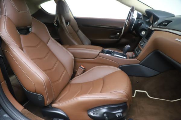 Used 2016 Maserati GranTurismo Sport for sale $64,900 at Alfa Romeo of Greenwich in Greenwich CT 06830 21