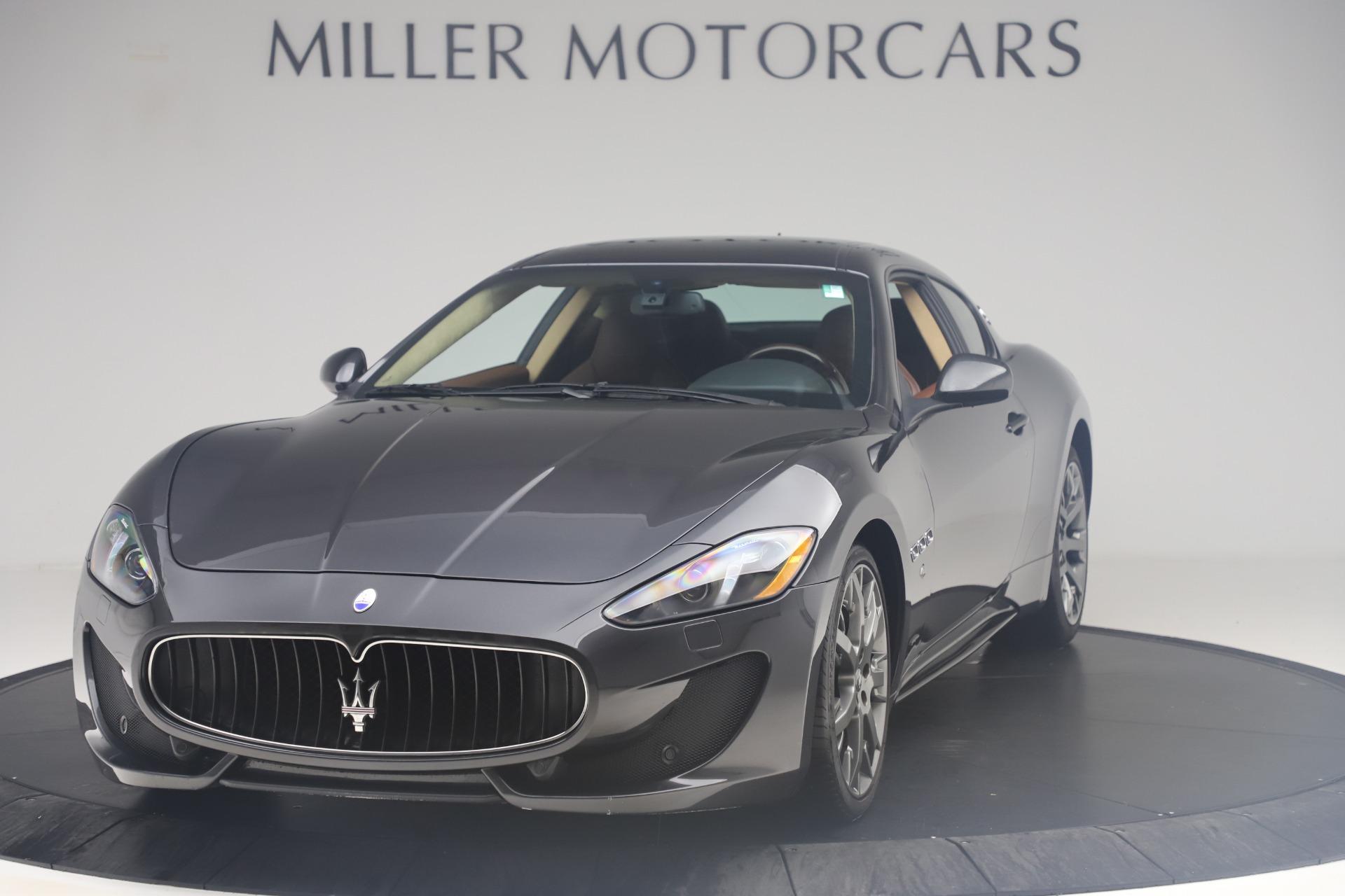 Used 2016 Maserati GranTurismo Sport for sale $64,900 at Alfa Romeo of Greenwich in Greenwich CT 06830 1