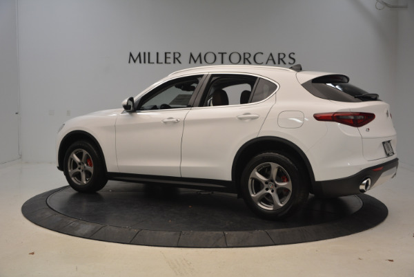 New 2018 Alfa Romeo Stelvio Q4 for sale Sold at Alfa Romeo of Greenwich in Greenwich CT 06830 4