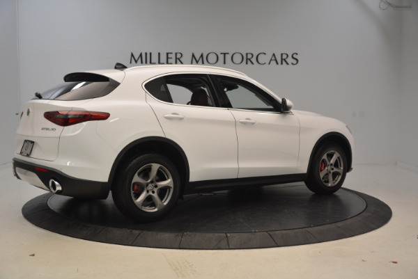 New 2018 Alfa Romeo Stelvio Q4 for sale Sold at Alfa Romeo of Greenwich in Greenwich CT 06830 8
