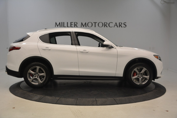 New 2018 Alfa Romeo Stelvio Q4 for sale Sold at Alfa Romeo of Greenwich in Greenwich CT 06830 9