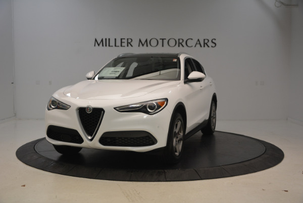 New 2018 Alfa Romeo Stelvio Q4 for sale Sold at Alfa Romeo of Greenwich in Greenwich CT 06830 1