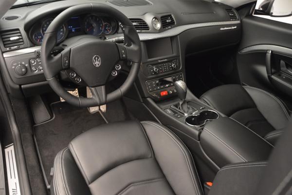 New 2016 Maserati GranTurismo Sport for sale Sold at Alfa Romeo of Greenwich in Greenwich CT 06830 13