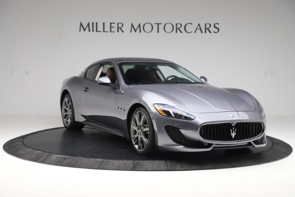 Used 2016 Maserati GranTurismo Sport for sale Sold at Alfa Romeo of Greenwich in Greenwich CT 06830 11