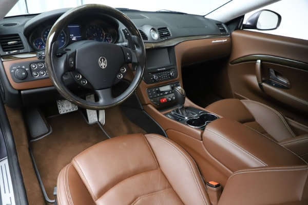 Used 2016 Maserati GranTurismo Sport for sale Sold at Alfa Romeo of Greenwich in Greenwich CT 06830 13