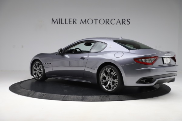 Used 2016 Maserati GranTurismo Sport for sale Sold at Alfa Romeo of Greenwich in Greenwich CT 06830 4