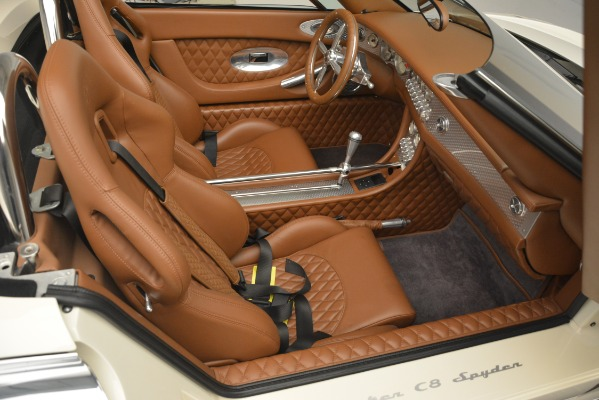 Used 2006 Spyker C8 Spyder for sale Sold at Alfa Romeo of Greenwich in Greenwich CT 06830 22