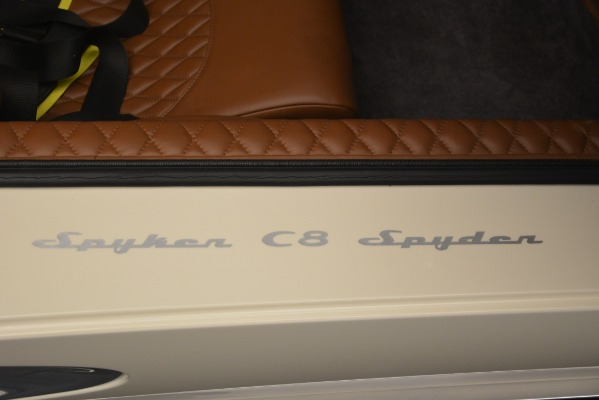 Used 2006 Spyker C8 Spyder for sale Sold at Alfa Romeo of Greenwich in Greenwich CT 06830 25