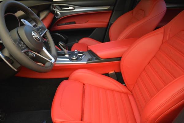 New 2018 Alfa Romeo Stelvio Ti Q4 for sale Sold at Alfa Romeo of Greenwich in Greenwich CT 06830 14