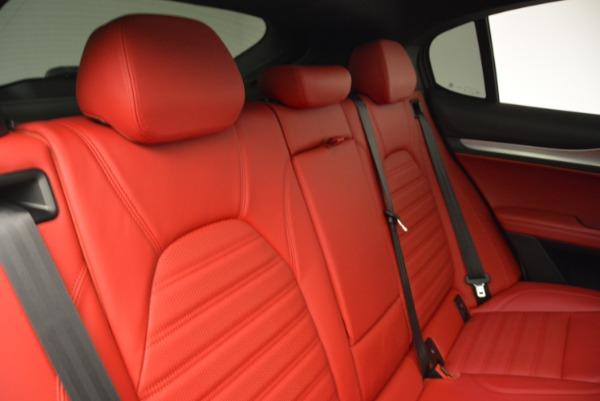 New 2018 Alfa Romeo Stelvio Ti Q4 for sale Sold at Alfa Romeo of Greenwich in Greenwich CT 06830 24
