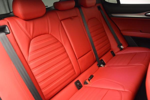 New 2018 Alfa Romeo Stelvio Ti Sport Q4 for sale Sold at Alfa Romeo of Greenwich in Greenwich CT 06830 24