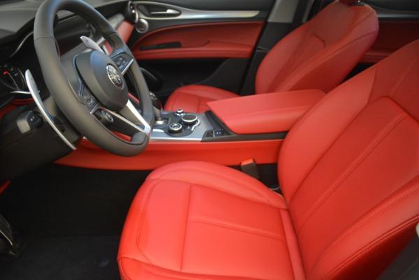 New 2018 Alfa Romeo Stelvio Sport Q4 for sale Sold at Alfa Romeo of Greenwich in Greenwich CT 06830 14