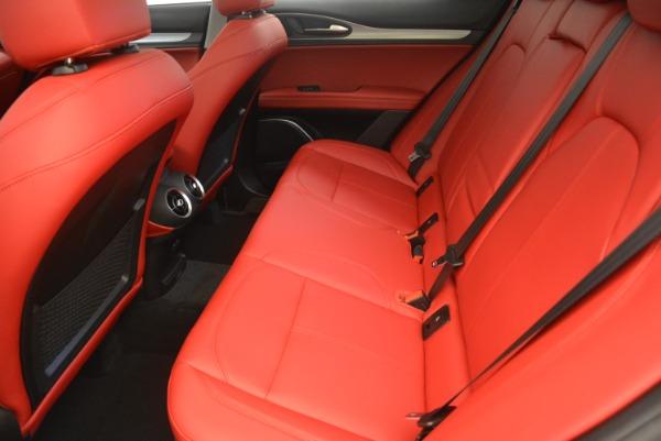 New 2018 Alfa Romeo Stelvio Sport Q4 for sale Sold at Alfa Romeo of Greenwich in Greenwich CT 06830 17