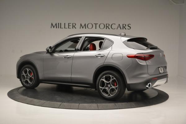 New 2018 Alfa Romeo Stelvio Sport Q4 for sale Sold at Alfa Romeo of Greenwich in Greenwich CT 06830 3