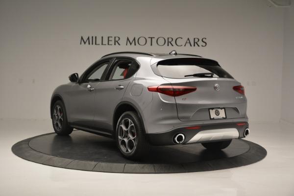 New 2018 Alfa Romeo Stelvio Sport Q4 for sale Sold at Alfa Romeo of Greenwich in Greenwich CT 06830 4