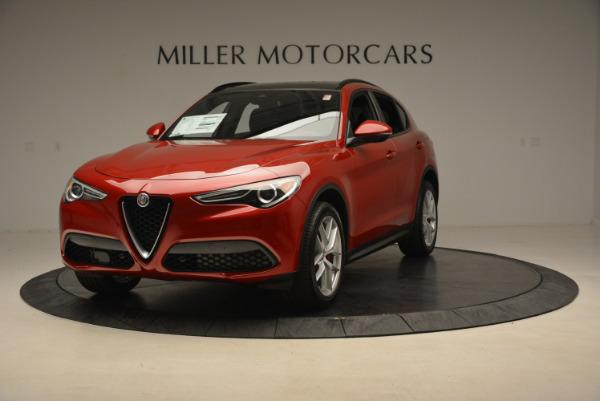 New 2018 Alfa Romeo Stelvio Ti Sport Q4 for sale Sold at Alfa Romeo of Greenwich in Greenwich CT 06830 1