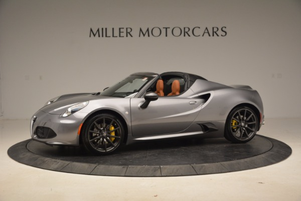 New 2018 Alfa Romeo 4C Spider for sale Sold at Alfa Romeo of Greenwich in Greenwich CT 06830 3