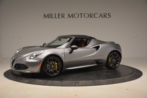New 2018 Alfa Romeo 4C Spider for sale Sold at Alfa Romeo of Greenwich in Greenwich CT 06830 4