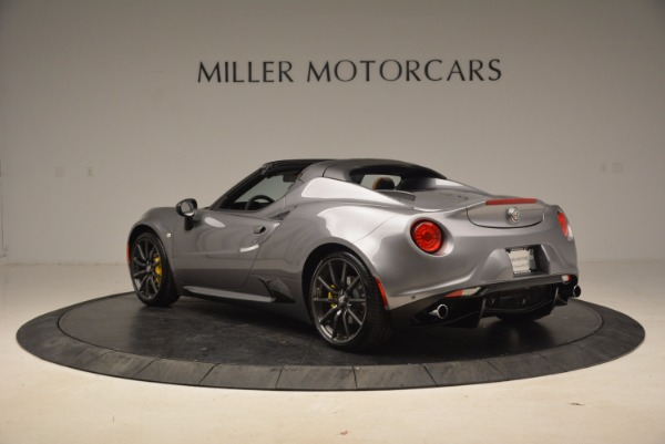 New 2018 Alfa Romeo 4C Spider for sale Sold at Alfa Romeo of Greenwich in Greenwich CT 06830 9