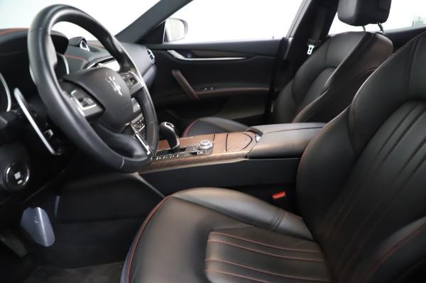 Used 2018 Maserati Ghibli S Q4 for sale Sold at Alfa Romeo of Greenwich in Greenwich CT 06830 15