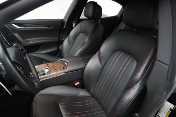 Used 2018 Maserati Ghibli S Q4 for sale Sold at Alfa Romeo of Greenwich in Greenwich CT 06830 16