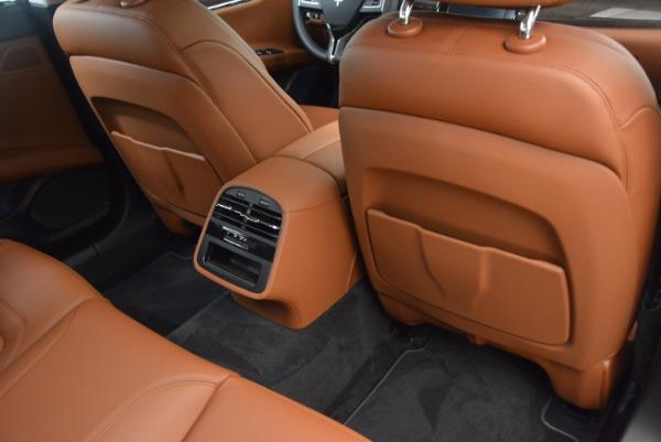 New 2018 Maserati Quattroporte S Q4 GranLusso for sale Sold at Alfa Romeo of Greenwich in Greenwich CT 06830 22