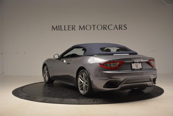 Used 2018 Maserati GranTurismo Sport Convertible for sale Sold at Alfa Romeo of Greenwich in Greenwich CT 06830 10
