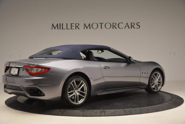 New 2018 Maserati GranTurismo Sport Convertible for sale Sold at Alfa Romeo of Greenwich in Greenwich CT 06830 16