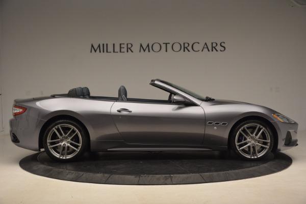 Used 2018 Maserati GranTurismo Sport Convertible for sale Sold at Alfa Romeo of Greenwich in Greenwich CT 06830 17