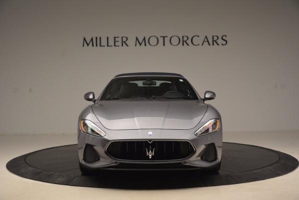 Used 2018 Maserati GranTurismo Sport Convertible for sale Sold at Alfa Romeo of Greenwich in Greenwich CT 06830 24