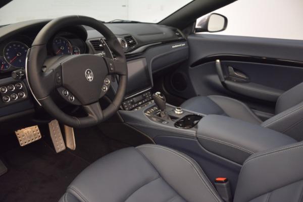 New 2018 Maserati GranTurismo Sport Convertible for sale Sold at Alfa Romeo of Greenwich in Greenwich CT 06830 25