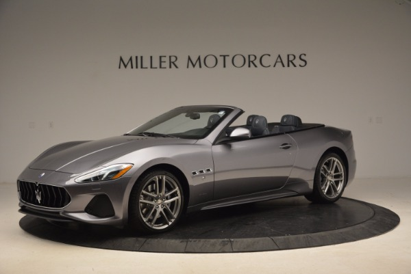 New 2018 Maserati GranTurismo Sport Convertible for sale Sold at Alfa Romeo of Greenwich in Greenwich CT 06830 3