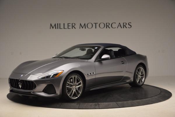Used 2018 Maserati GranTurismo Sport Convertible for sale Sold at Alfa Romeo of Greenwich in Greenwich CT 06830 4
