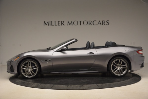 Used 2018 Maserati GranTurismo Sport Convertible for sale Sold at Alfa Romeo of Greenwich in Greenwich CT 06830 5