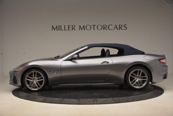 Used 2018 Maserati GranTurismo Sport Convertible for sale Sold at Alfa Romeo of Greenwich in Greenwich CT 06830 6