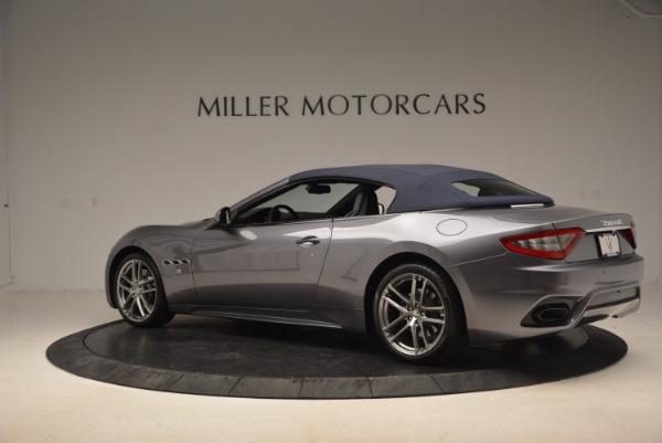 New 2018 Maserati GranTurismo Sport Convertible for sale Sold at Alfa Romeo of Greenwich in Greenwich CT 06830 8