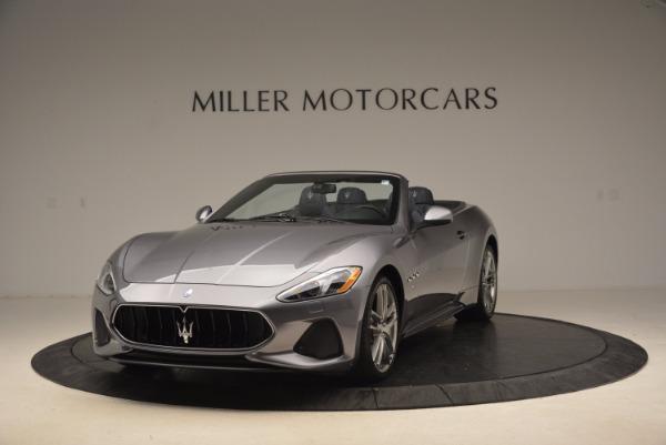 Used 2018 Maserati GranTurismo Sport Convertible for sale Sold at Alfa Romeo of Greenwich in Greenwich CT 06830 1