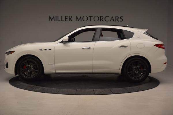 New 2018 Maserati Levante Q4 GranLusso for sale Sold at Alfa Romeo of Greenwich in Greenwich CT 06830 3