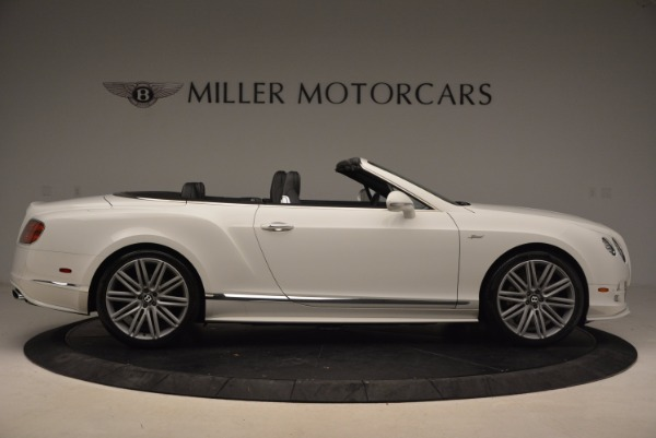 Used 2015 Bentley Continental GT Speed for sale Sold at Alfa Romeo of Greenwich in Greenwich CT 06830 9