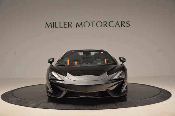 Used 2018 McLaren 570S Spider for sale Sold at Alfa Romeo of Greenwich in Greenwich CT 06830 12