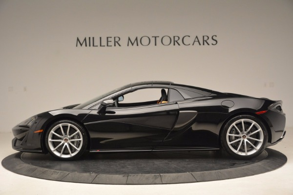 Used 2018 McLaren 570S Spider for sale Sold at Alfa Romeo of Greenwich in Greenwich CT 06830 14
