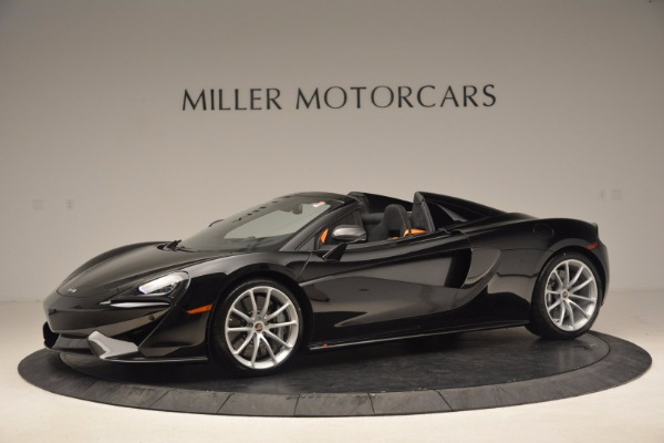 Used 2018 McLaren 570S Spider for sale Sold at Alfa Romeo of Greenwich in Greenwich CT 06830 2