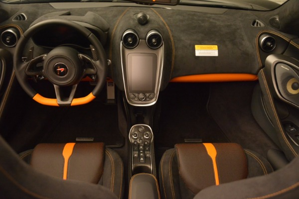 Used 2018 McLaren 570S Spider for sale Sold at Alfa Romeo of Greenwich in Greenwich CT 06830 24