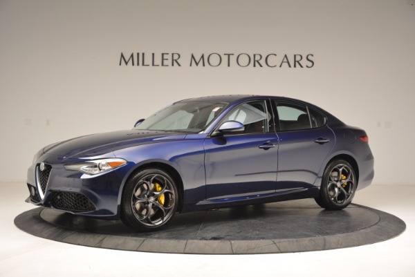 New 2018 Alfa Romeo Giulia Ti Sport Q4 for sale Sold at Alfa Romeo of Greenwich in Greenwich CT 06830 2