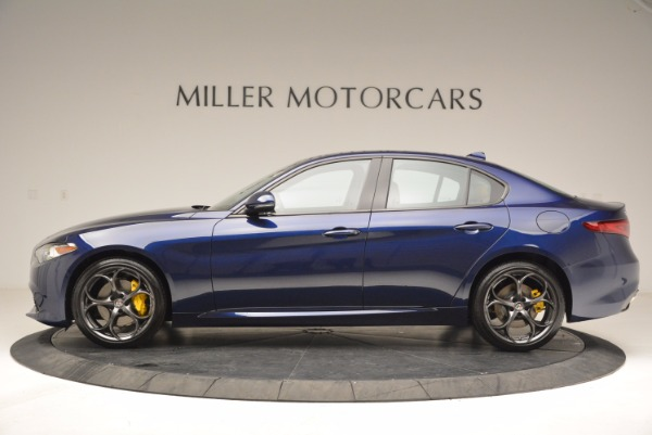 New 2018 Alfa Romeo Giulia Ti Sport Q4 for sale Sold at Alfa Romeo of Greenwich in Greenwich CT 06830 3
