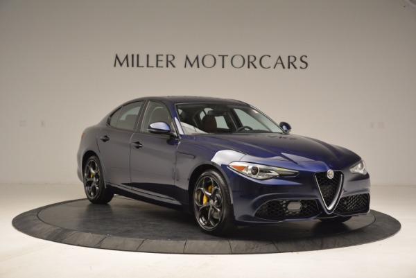 New 2018 Alfa Romeo Giulia Ti Sport Q4 for sale Sold at Alfa Romeo of Greenwich in Greenwich CT 06830 9
